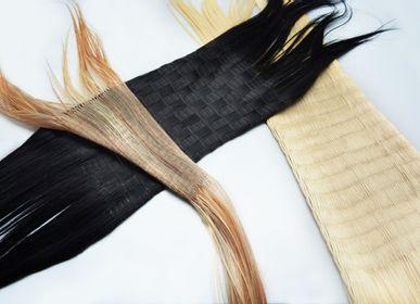 Sculpture - Protocole 3 : Tricotage de cheveux en trame - ANTONIN MONGIN