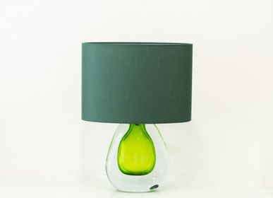 Decorative objects - Table lamp with colorful drop - VETRERIA MURANO DESIGN