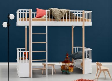 Children's bedrooms - Wood beds - OLIVER FURNITURE A/S