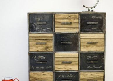 Desk chairs - Chest of drawers Nassara 12 - MOOGOO CREATIVE AFRICA