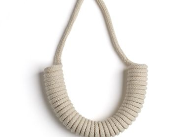 Jewelry - Half Coil Necklace  - ELEANOR BOLTON STUDIO