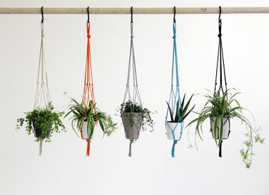 Floral decoration - Knotted interiors Plant Pot Hangers - ELEANOR BOLTON STUDIO