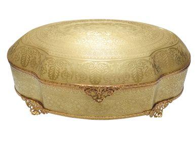 Decorative objects - Gold Box Clément - PORCELAINE CARPENET - LIMOGES