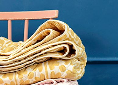 Throw blankets - Seedling & Bloom Quilt - TORI MURPHY