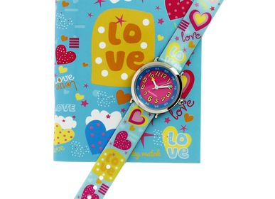"Children's arts and crafts - Gift box ""bon-heure"" watch and method - BABY WATCH"