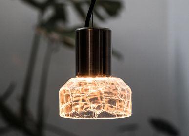 Hanging lights - Greenway Crackle - ADESIGNSTUDIO