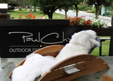 Lounge chairs - Chaise Longue - XXL BOBINE - PAULCHX - OUTDOOR DESIGN CHAMONIX