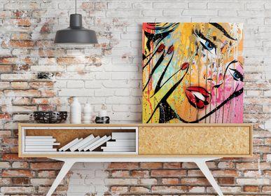 Wall decoration - PRESENTATION ARTIST MR OREKE - EYEFOOD FACTORY