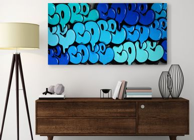 Wall decoration - PRESENTATION ARTIST COPE2 - EYEFOOD FACTORY