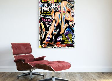 Wall decoration - PRESENTATION ARTISTE MICHAEL VIVIANI - EYEFOOD FACTORY