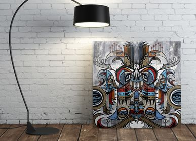 Wall decoration - PRESENTATION ARTIST PAUL VINOY - EYEFOOD FACTORY
