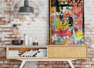Wall decoration - PRESENTATION ARTIST YAN F - EYEFOOD FACTORY