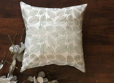 Cushions - Glowing Foliate Cushion Cover - THE INDIAN PICK
