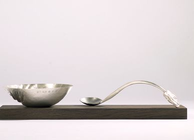 Bol - Sugar Bowl and Spoon - MEGAN FALCONER SILVERSMITH