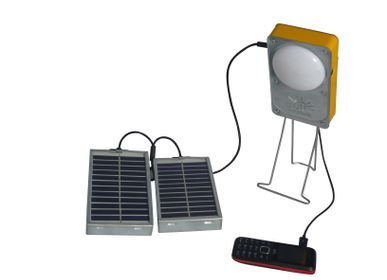 Wireless lamp - SOLAR LAMP USB PORT CELL LAGAZEL - CJ FRANCE