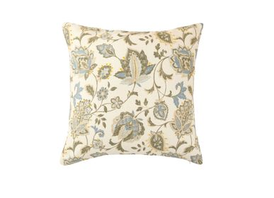 Fabric cushions - The Knotted Florid Cushion Cover - THE INDIAN PICK
