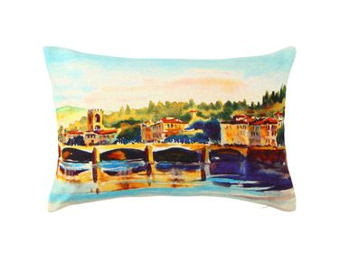 Cushions - Canals of Amsterdam Cushion Cover - THE INDIAN PICK