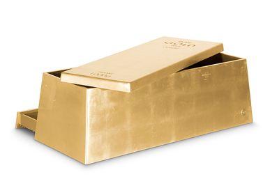 Children's bedrooms - GOLD TOY BOX - CIRCU