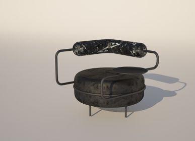 Small armchairs - MACARON - KONTRA