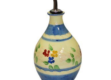 Ceramic - round bottle olive oil - SOULEO È PROVENCE