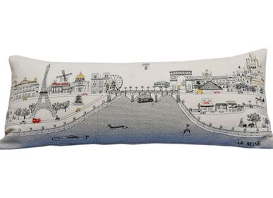 Coussins textile - COUSSIN SKYLINE PARIS - BEYOND CUSHIONS CORPORATION