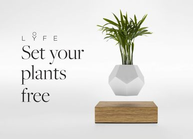 Design objects - LYFE Levitating Planter - FLYTE