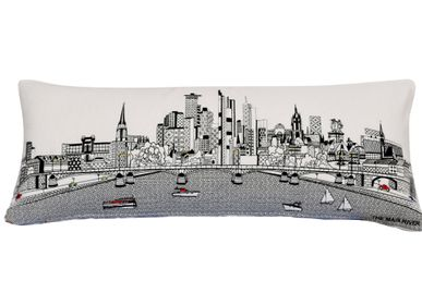 Coussins textile - FRANKFURT SKYLINE CUSHION - BEYOND CUSHIONS CORPORATION
