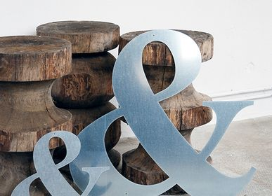 "Wall decoration - Ampersand ""&"" - UN ESPRIT EN PLUS"
