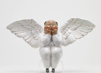 Sculpture - Festive Angel (Hong)  - X+Q ART