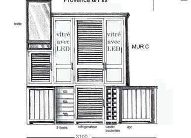 Armoires - CUISINE PLANTEUR - PROVENCE & FILS