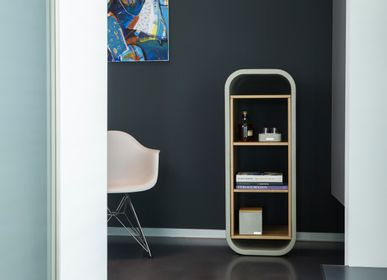 Furniture and storage - OPUS PATEO MAGNO Concrete and Wood Shelf Bookshelf - CO33 EXKLUSIVE BETONMÖBEL