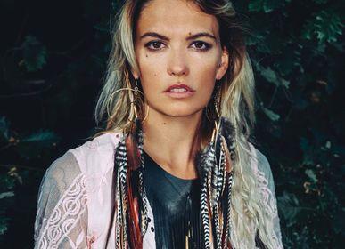 Jewelry - Orbit earrings - RUBY FEATHERS