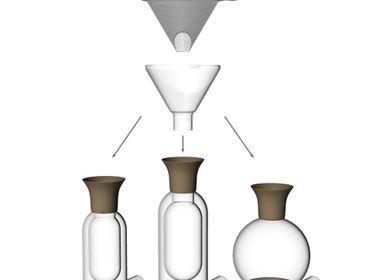 """Café / thé - """"minuit-une"""" système durable d'extraction douce du café - SILODESIGN - PARIS"""