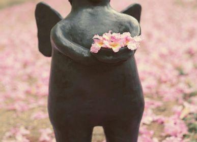 Céramique - Ange Noir - OGA CIE