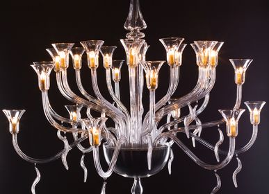 Hanging lights - The Flamboyant Chandelier - ADRIAN SISTEM - GABRIELA SERES