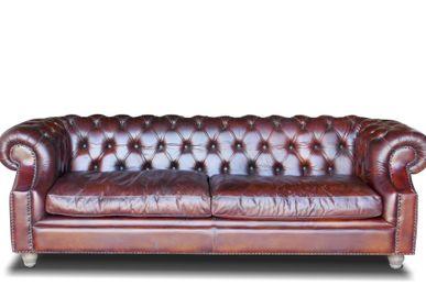 sofas - Sofa Chesterfield with pillows - ECOMATRIX