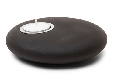Design objects - Candle Holder, Pebble Shape - Rock of Kaba - ANOQ