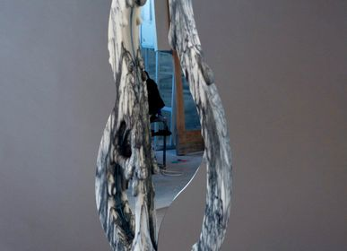 Miroirs - Silhouette - miroir - MANTA HANDMADE STONE DESIGN