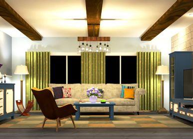 Bookshelves - ABRUZZO Living Room  - RUSTIL MOBEL