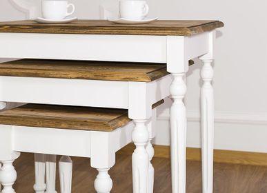 Tables consoles - 3 pièce  de tables basse  - SZEL MOB
