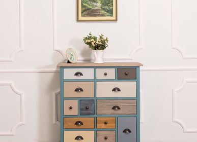 Commodes - Sideboard with 13 multicolored drawers - SZEL MOB