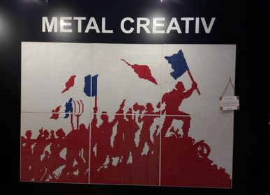 "Other wall decoration - ""French Revolution"" decorative wall  - H METAL"