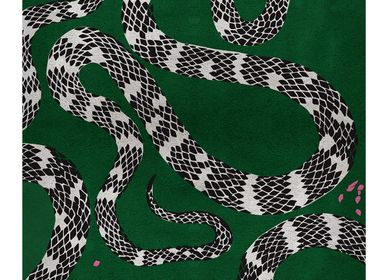Design - TAPIS DE SERPENT - RUG'SOCIETY