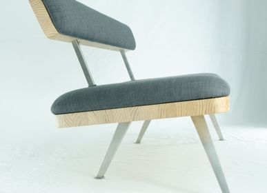 "Office seating - Bench ""Butterfly"" - ROMUALD FLEURY"