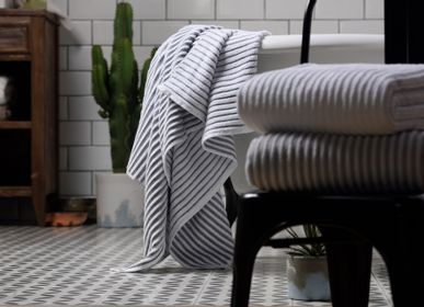 Other bath linens - Terry Stripe Towel - L'APPARTEMENT