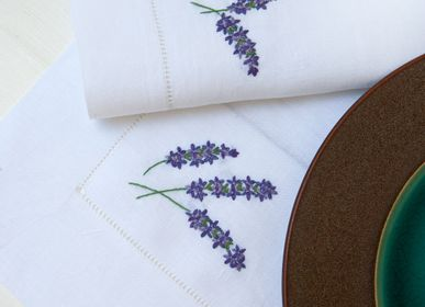 Placemats - Lavanda. Place mat set for 2. - THE NAPKING  BY BELLAVIA HOME