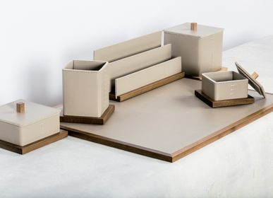Design objects - LEATHER DESK SETS & ACCESSORIES - RABITTI1969 BY GIOBAGNARA