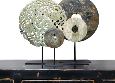 Objets design - Disques Bi Stone - THE SILK ROAD COLLECTION