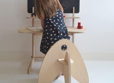 Children's desks - BLACK BIWO - MAKÉ MAKÉ