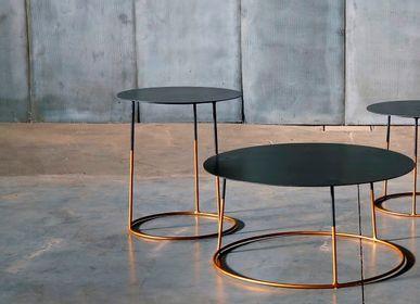 Tables basses - Nimbus Gold - HEERENHUIS MANUFACTUUR